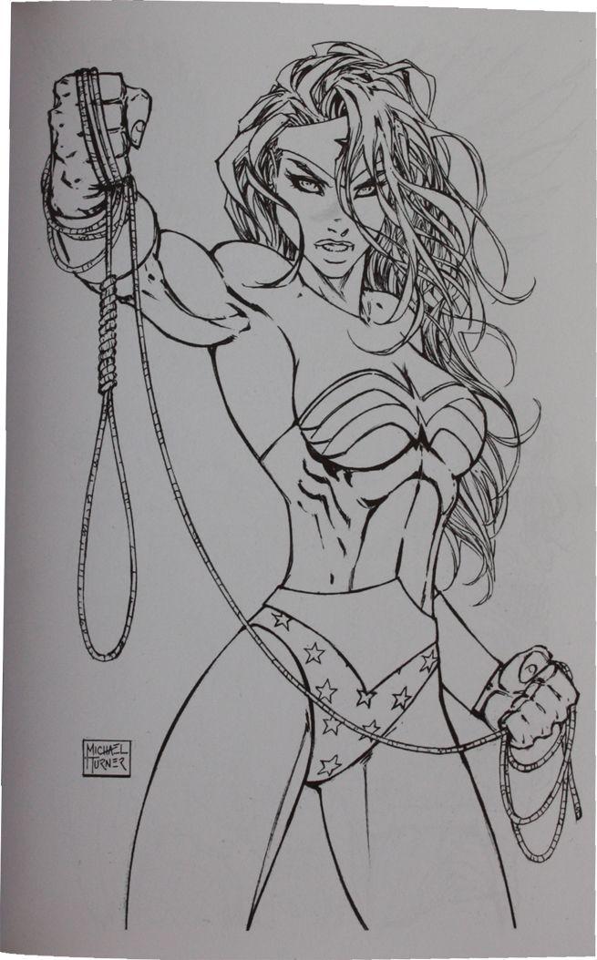 Wonder Woman   Michael Turner