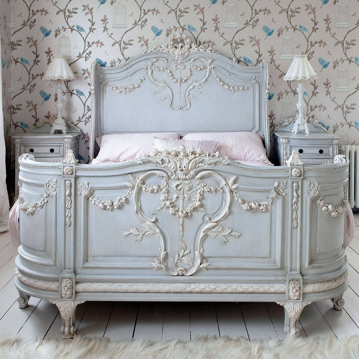 Bonaparte French Bed By The French Bedroom Company   Love Everything About  This !