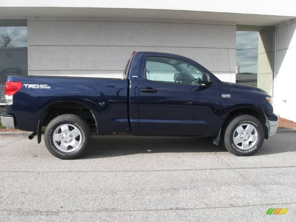 2008 tundra sr5 trd regular cab 4x4 nautical blue metallic graphite gray photo 2 toyota. Black Bedroom Furniture Sets. Home Design Ideas