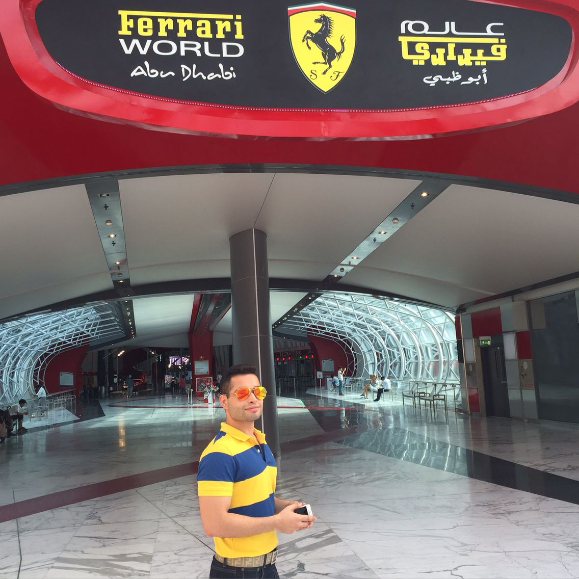 Ferrari World Abu Dhabi #Quote #Humour #Holiday