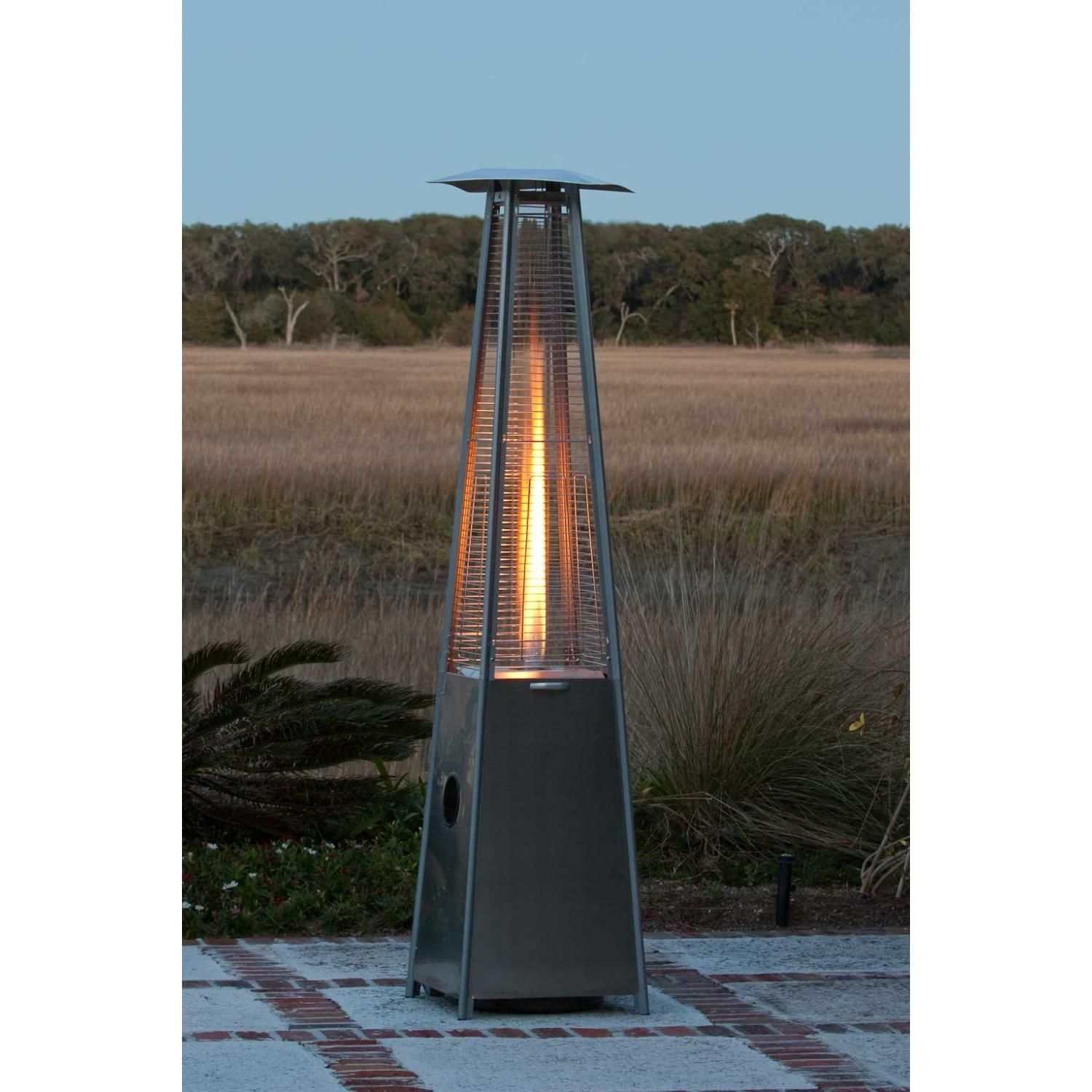 Awesome Extend Your Backyard Entertaining Season By Providing A Uniquely Visual  Flame   Fire Sense Patio Heaters
