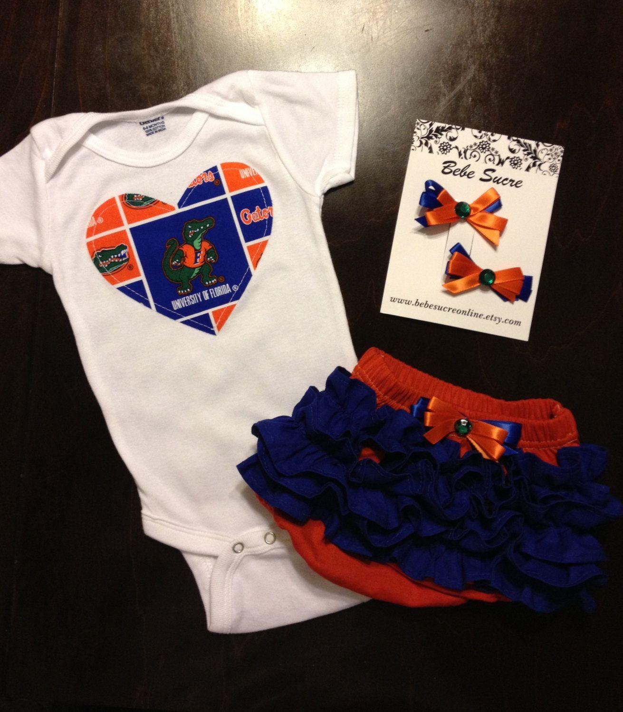 If a girl Florida Gators Gift Set $35 00 via Etsy