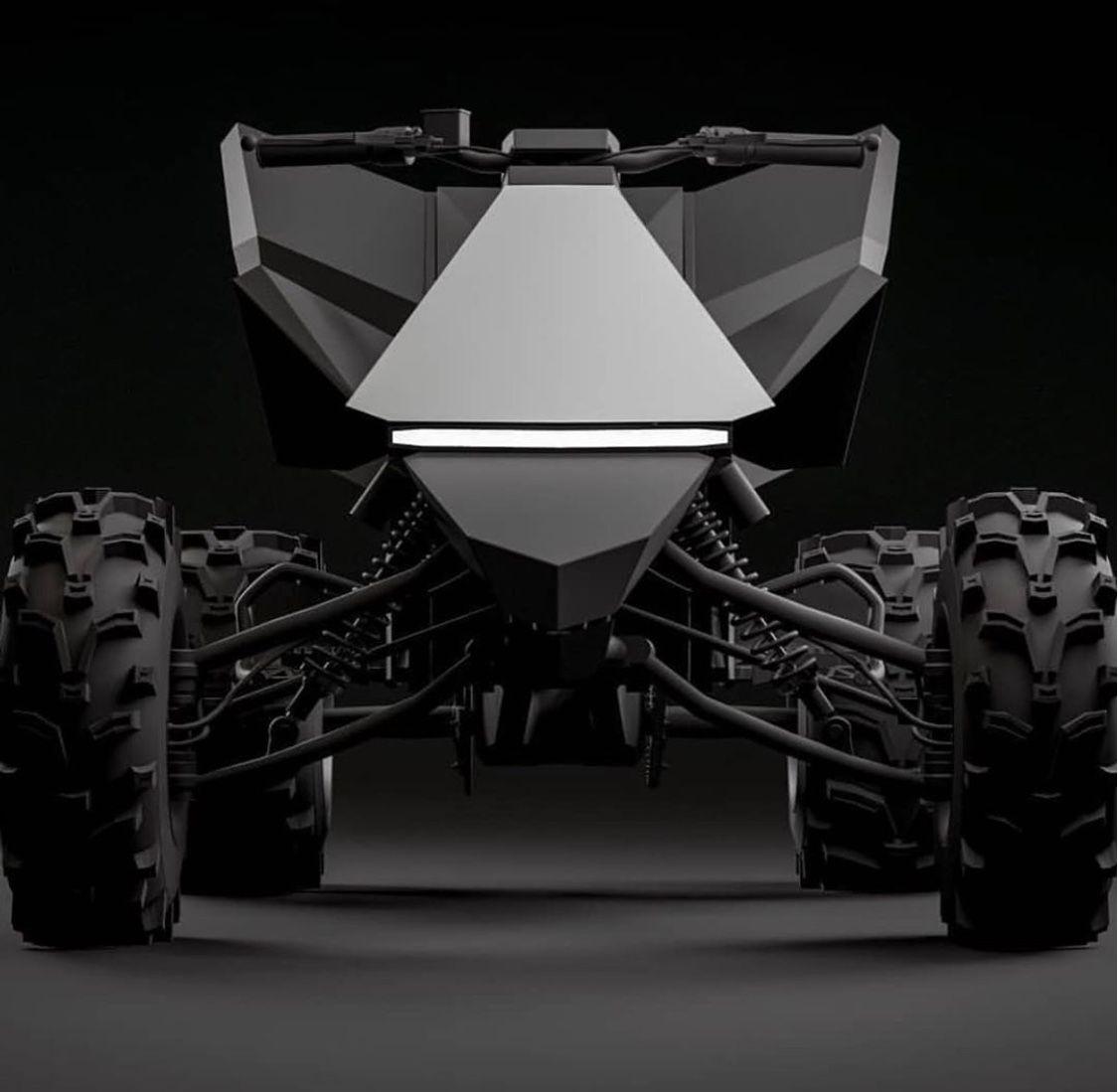 The Tesla Atv Is Beyond Cool Slaylebrity Tesla Atv Electric Dirt Bike
