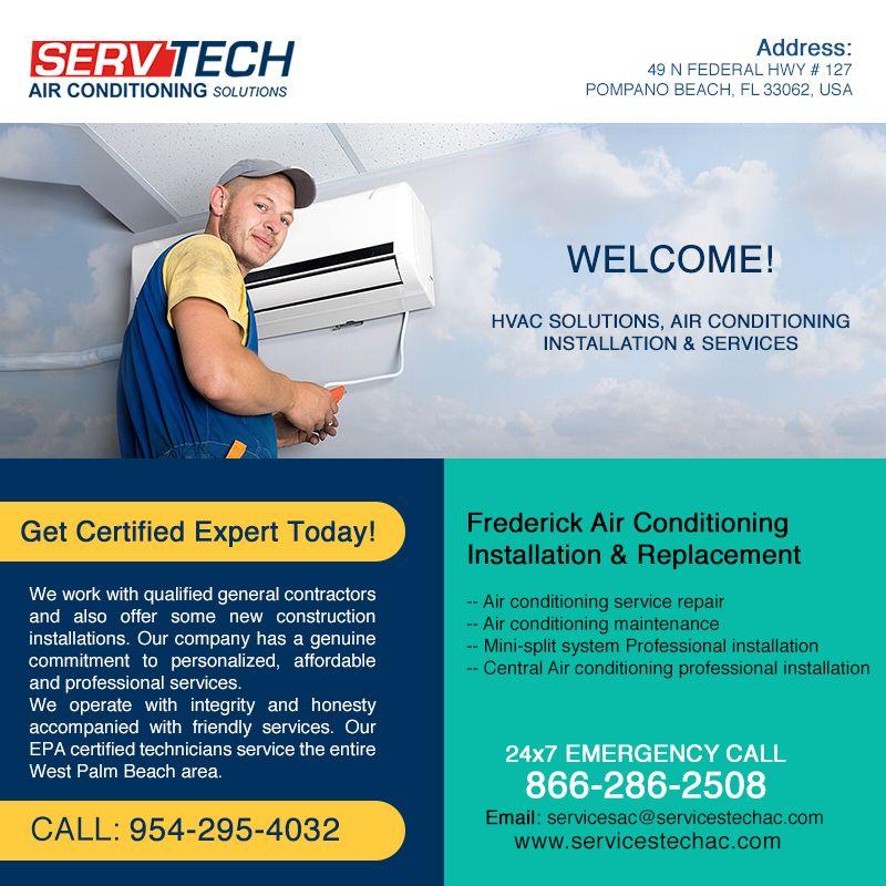 ServTech AC Website Request