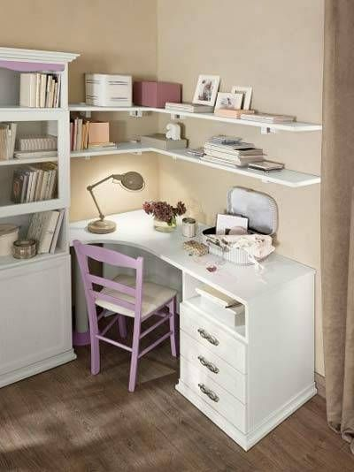 Scrivanie per camerette in 2019 | Bedroom Ideas | Bedroom, Room ...