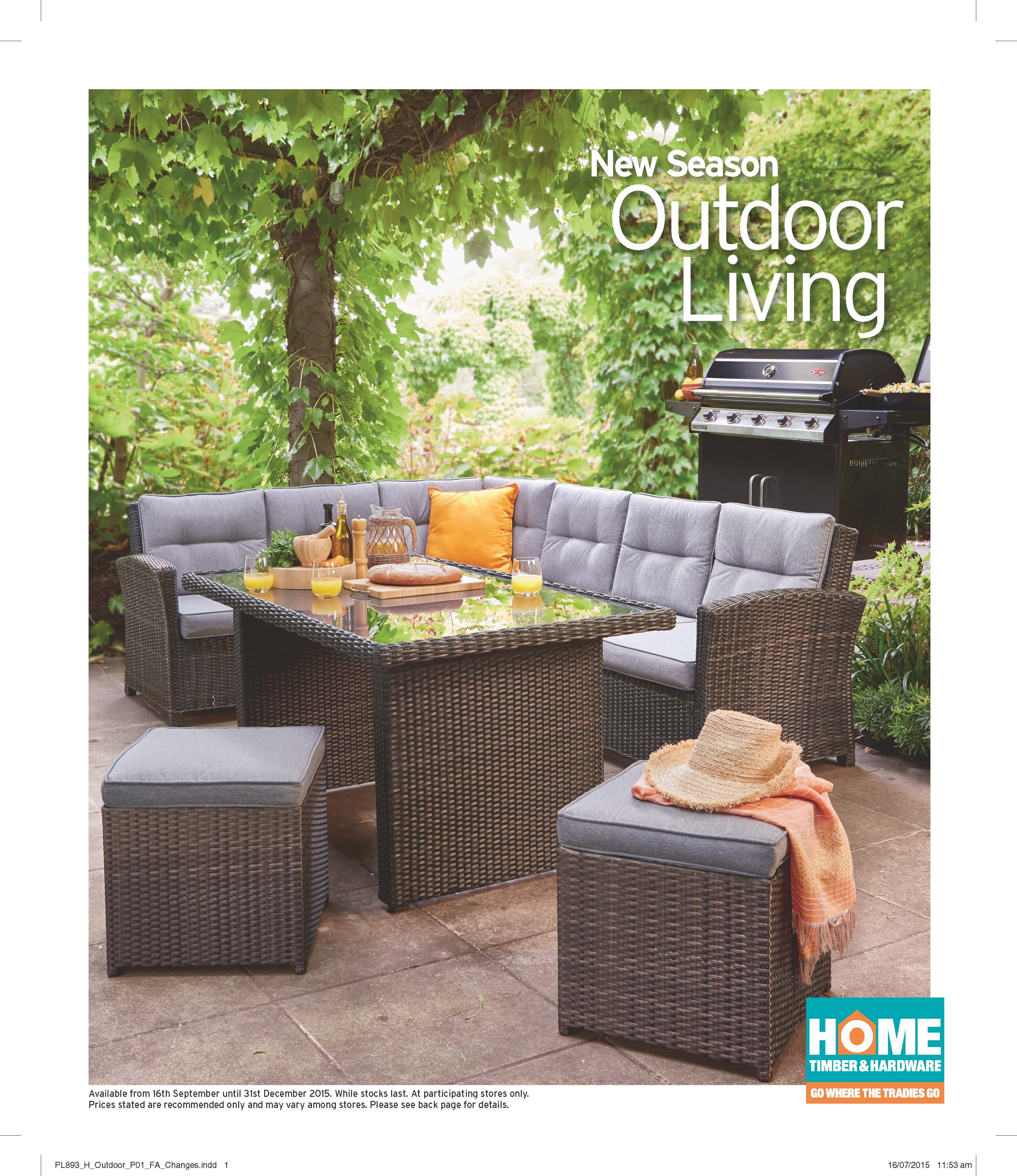 Outdoor living 2015 available at simon home timber hardware 9 wilkinson street harlaxton toowoomba