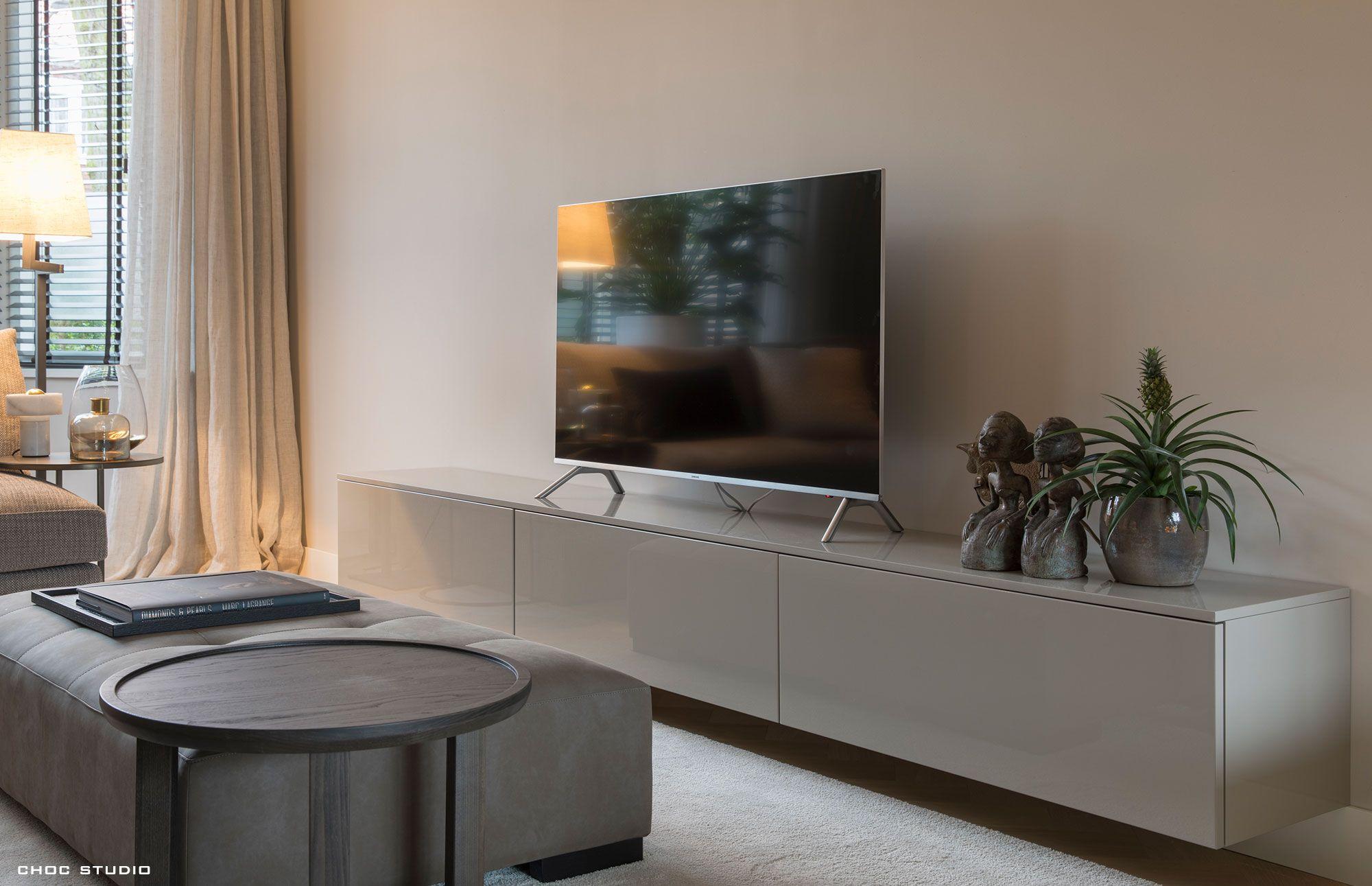 Sjieke Tv Meubel.Choc Studio Modern Chic Interiors Interieurontwerp En