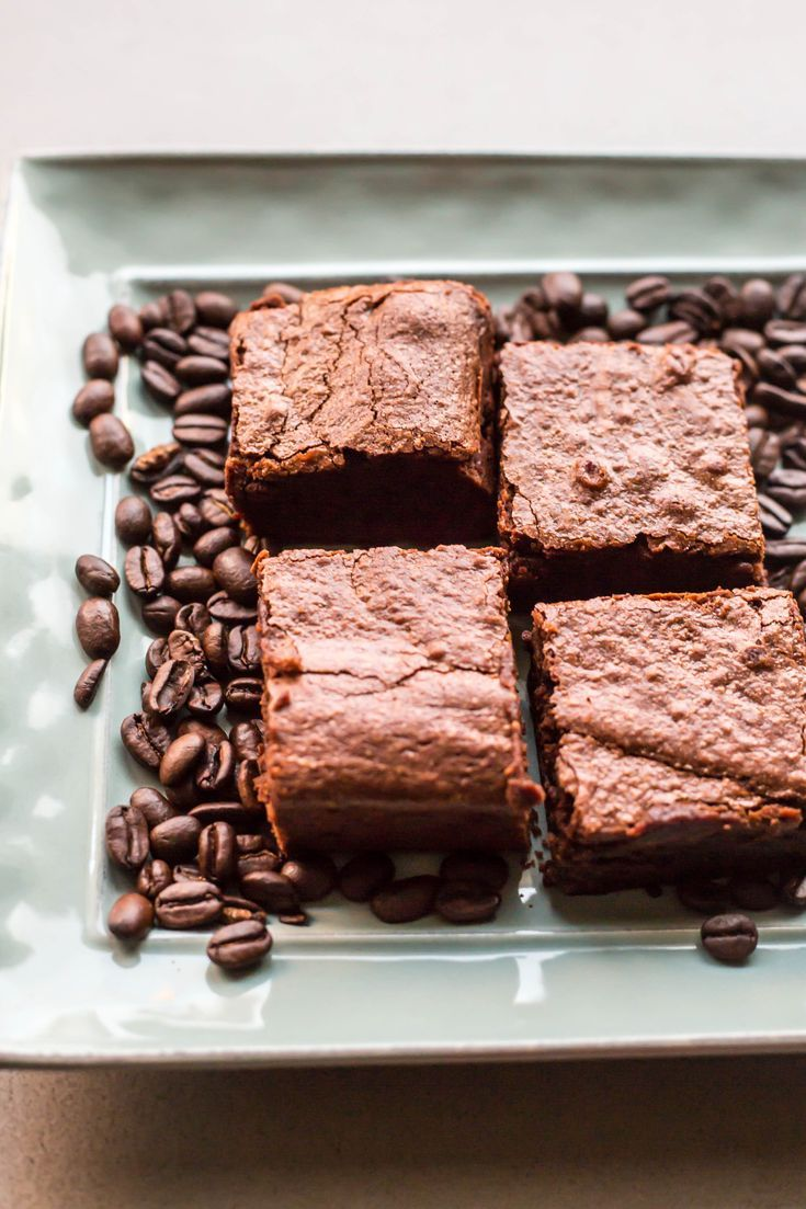 Espresso Brownies ESPRESSO BROWNIES | Rich, chocolatey, fudgy, dense brownies with a kick of coffee. Perfect after dinner dessert! The best brownies ever! |