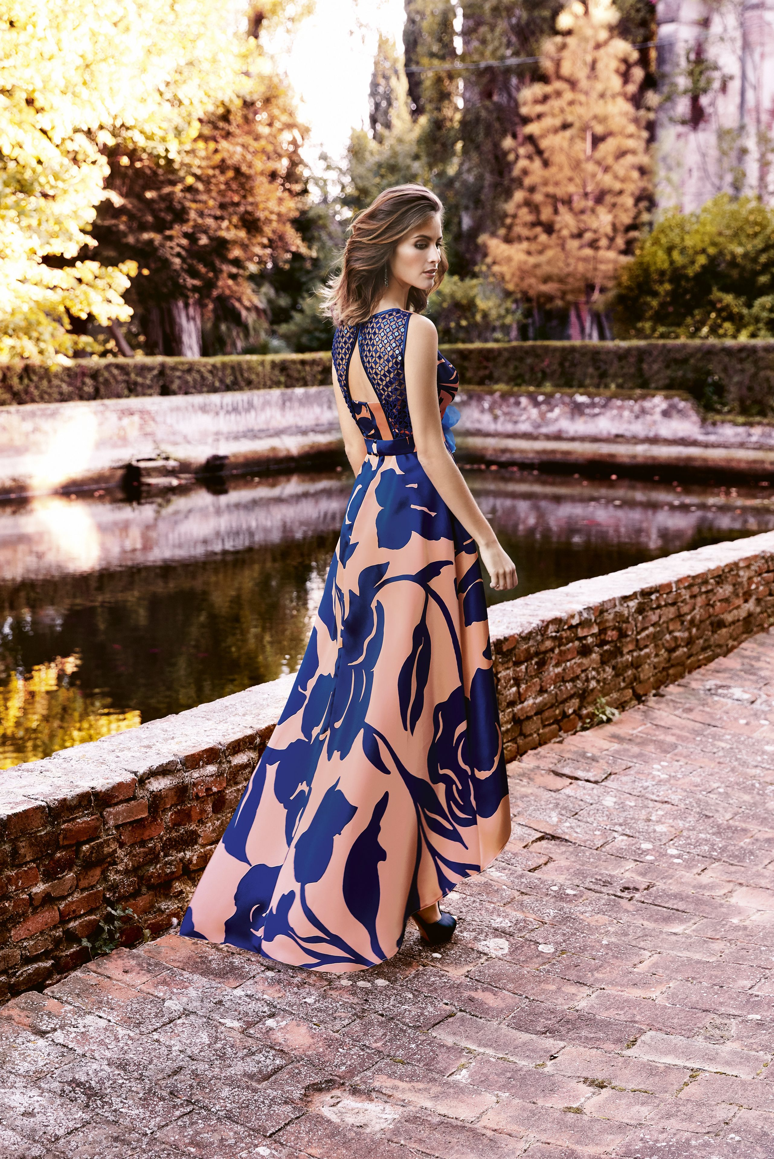 Modelo 732 de Nati Jimenez 2018 Moderno vestido de fiesta largo para ...