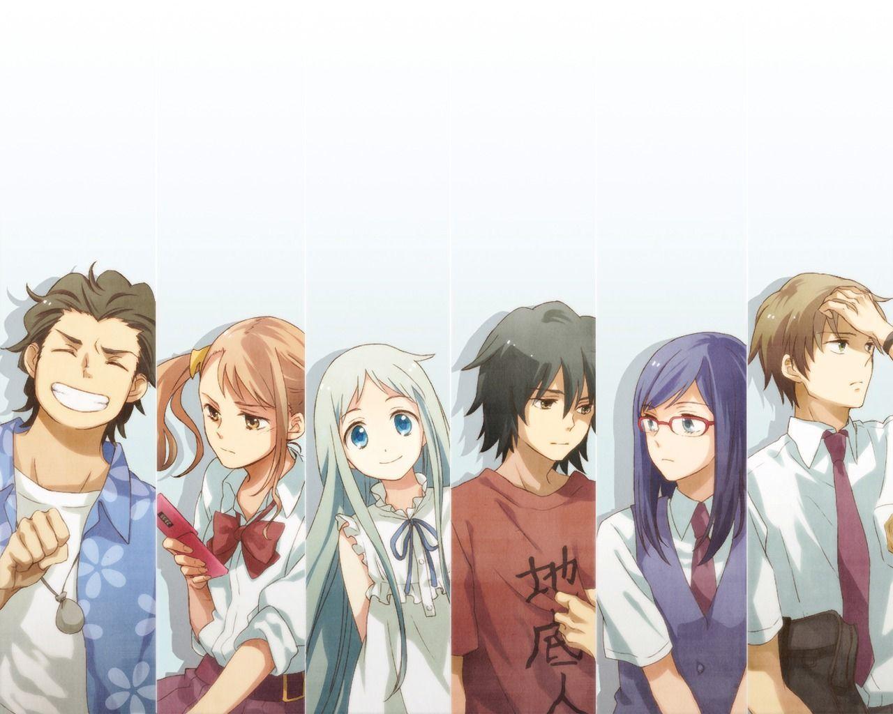Wallpaper Anohana Fondo de pantalla de anime, Anime