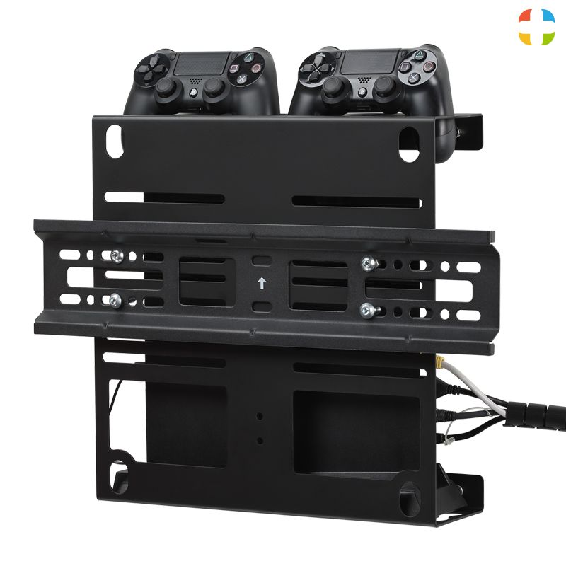 Check Out This Gamehangar Videogame Console And Tv Wall Mount Create For Your Passion Gamehangar For Ps4 First Ser Wall Mounted Tv Tv Wall Ps4 Wall Mount