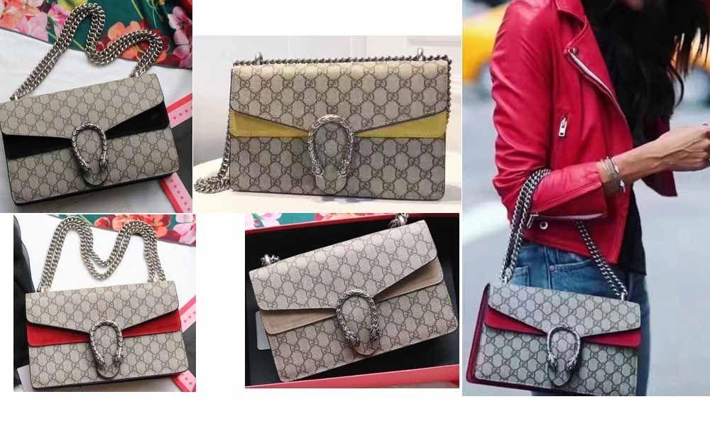 a38fb5d991a8ec Replica Gucci Dionysus GG Supreme shoulder bag 400249 | Gucci bags
