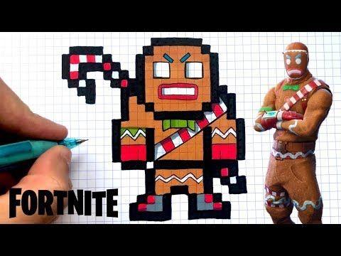 Dessin Facile Maraudeur Fortnite Pixel Art Youtube Coloriage