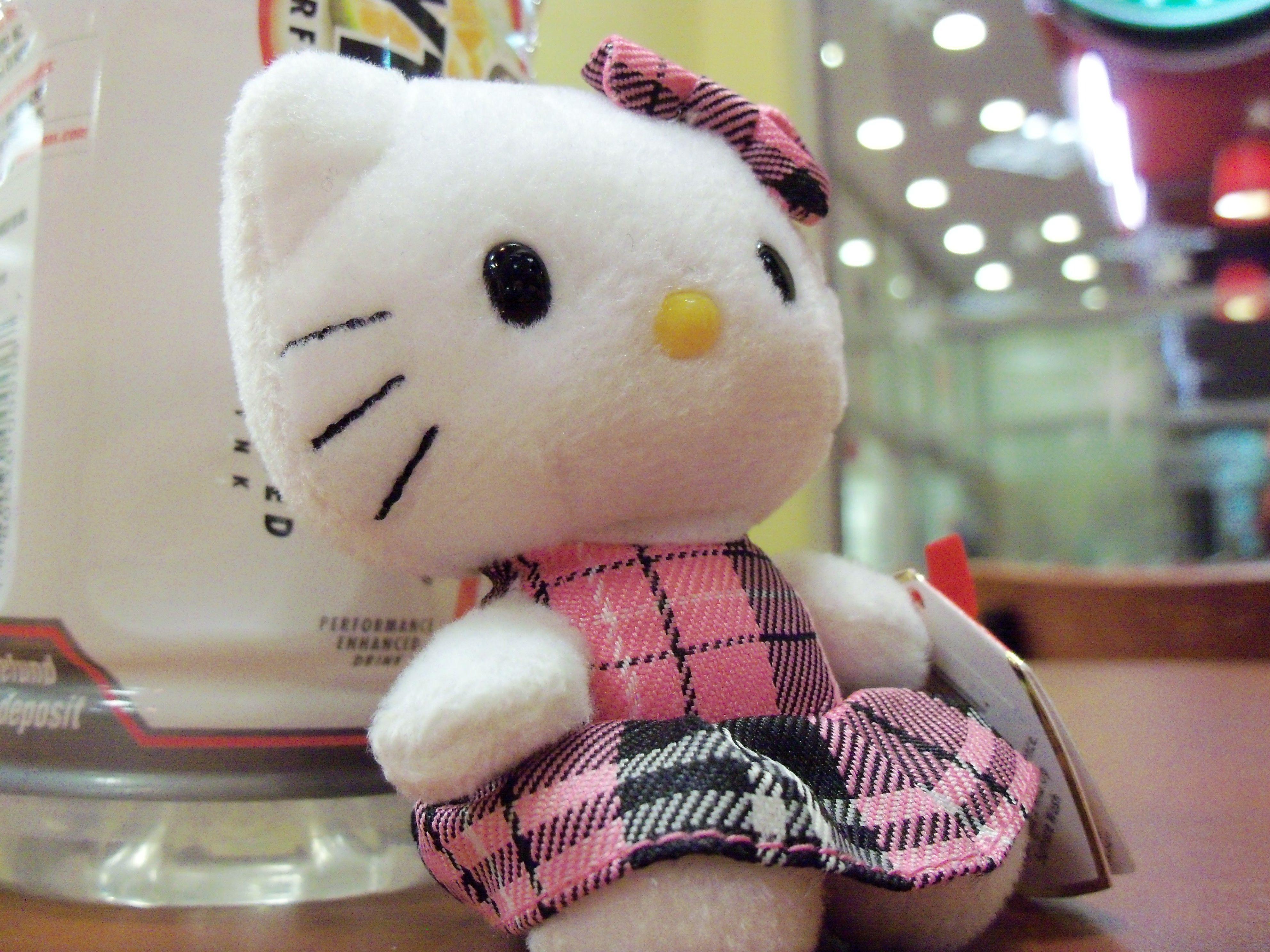 Hello Kitty that my Boyfriend got for me <3