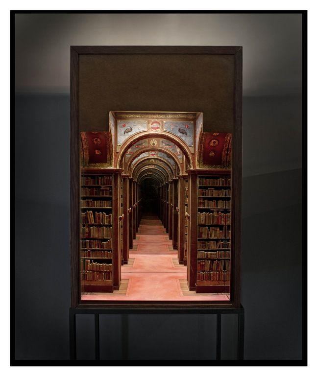 Charles Matton, The New York University Club Library I