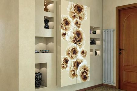 Rivestire un armadio con carta adesiva - Carta parati adesiva per mobili ...
