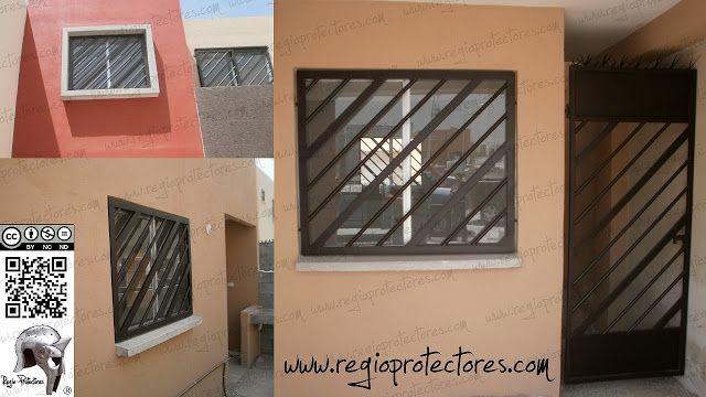 Regio Protectores: Protectores para ventanas y puertas, Fracc. Bosques de la Huasteca, Montaje y Plano #456