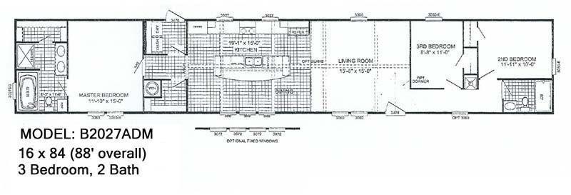 McCants Mobiles Homes Model B2027ADM 10