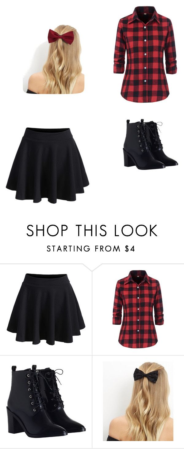 """""""flannel"""" by quinmacburg on Polyvore featuring WithChic, Zimmermann and New Look"""