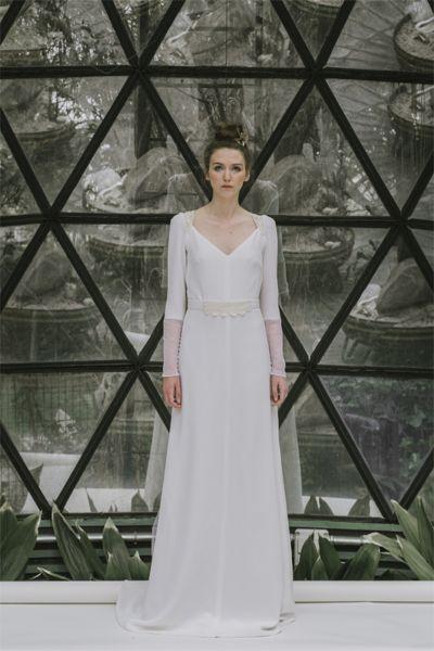 vestidos de novia para boda civil. ¡más de 40 diseños con los que