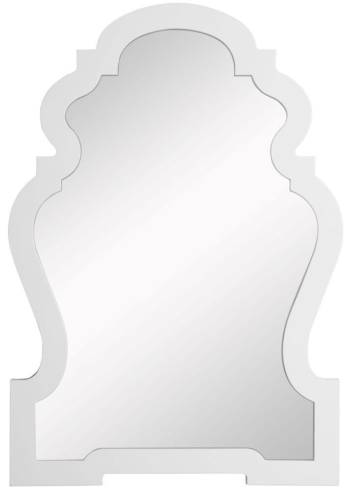 Lawson White Oversized Arch Wall Mirror | 25.75 x 38 inches ...