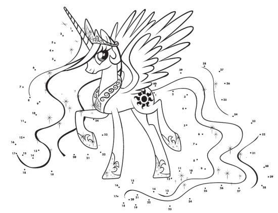 Принцесса Селестия раскраска | Принцесса селестия ...