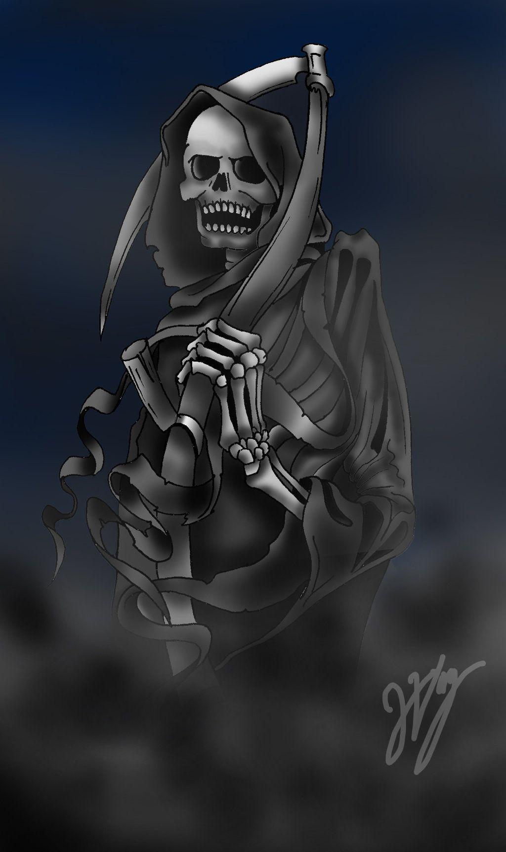 Sara Swirl meets dark Reaper