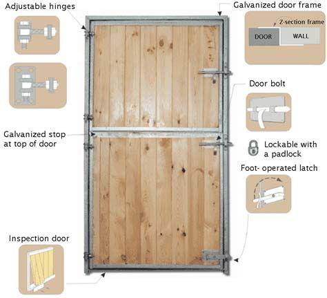 Stable Door Posts