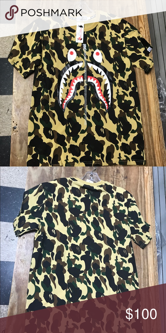 Bape T Shirt Send Questions To  Supreme Shirts Tees Short Sleeve