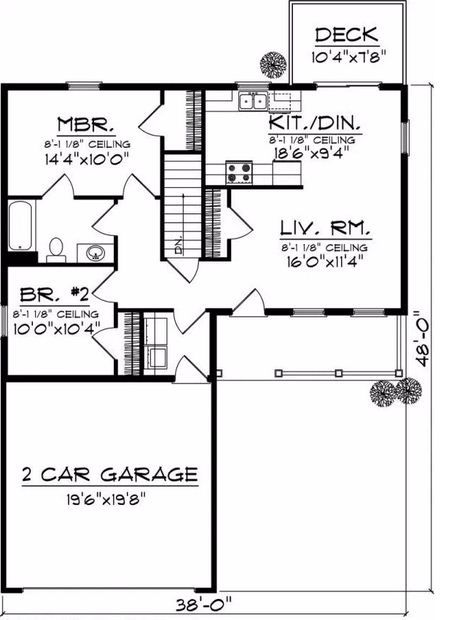 Delightful See The Marney Shingle Ranch Home That Has 2 Bedrooms And 1 Full Bath From House  Plans And More. See Amenities For Plan