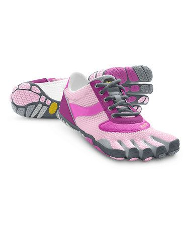 the latest c4d2f 6872e Take a look at this Pink   Gray Speed Sneaker – Women by Vibram FiveFingers  on  zulily today!