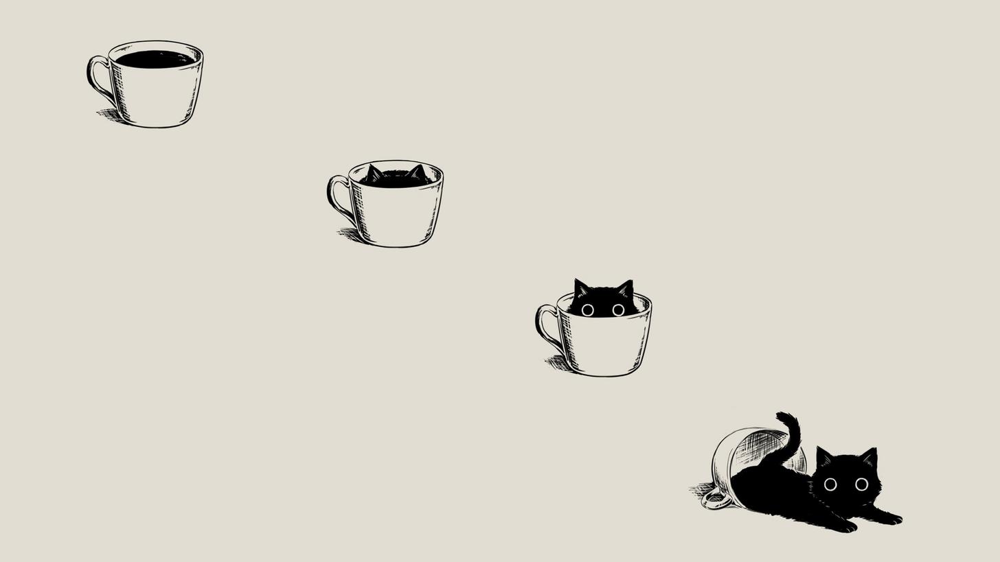 Cat 1920 1080 Cute Cat Wallpaper Cat Wallpaper Desktop Wallpaper Black