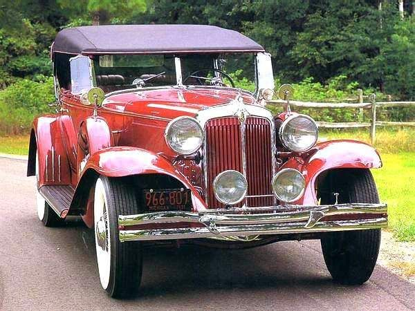 1931 Chrysler Imperial 4 Door Phaeton