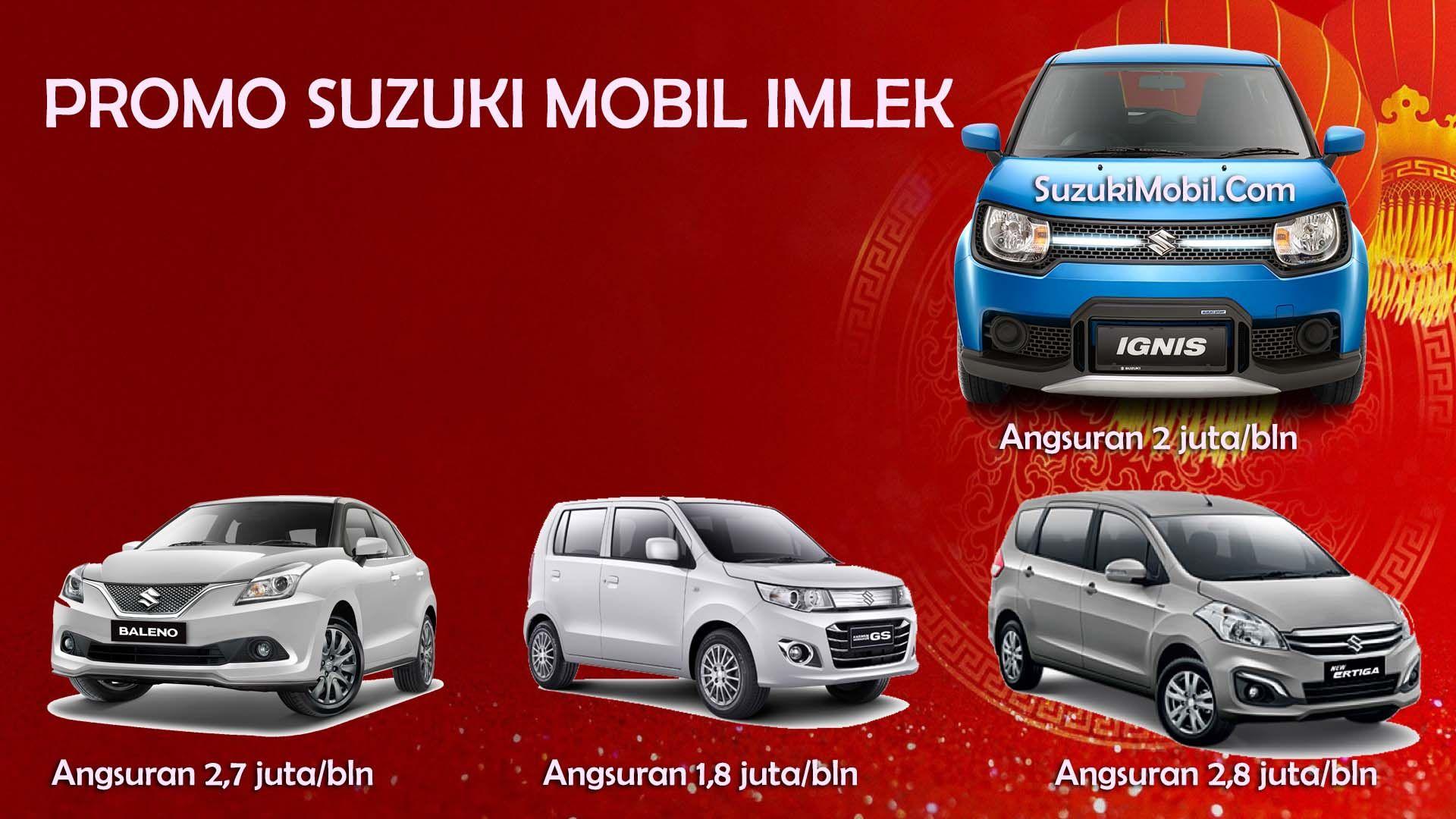 Suzuki Mobil Promo Imlek Promo Kredit Suzuki Ignis Ertiga Murah