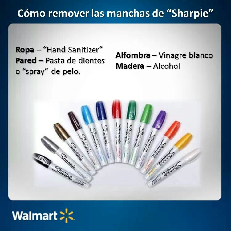 Good to know how to remove sharpie marker stain sharpie