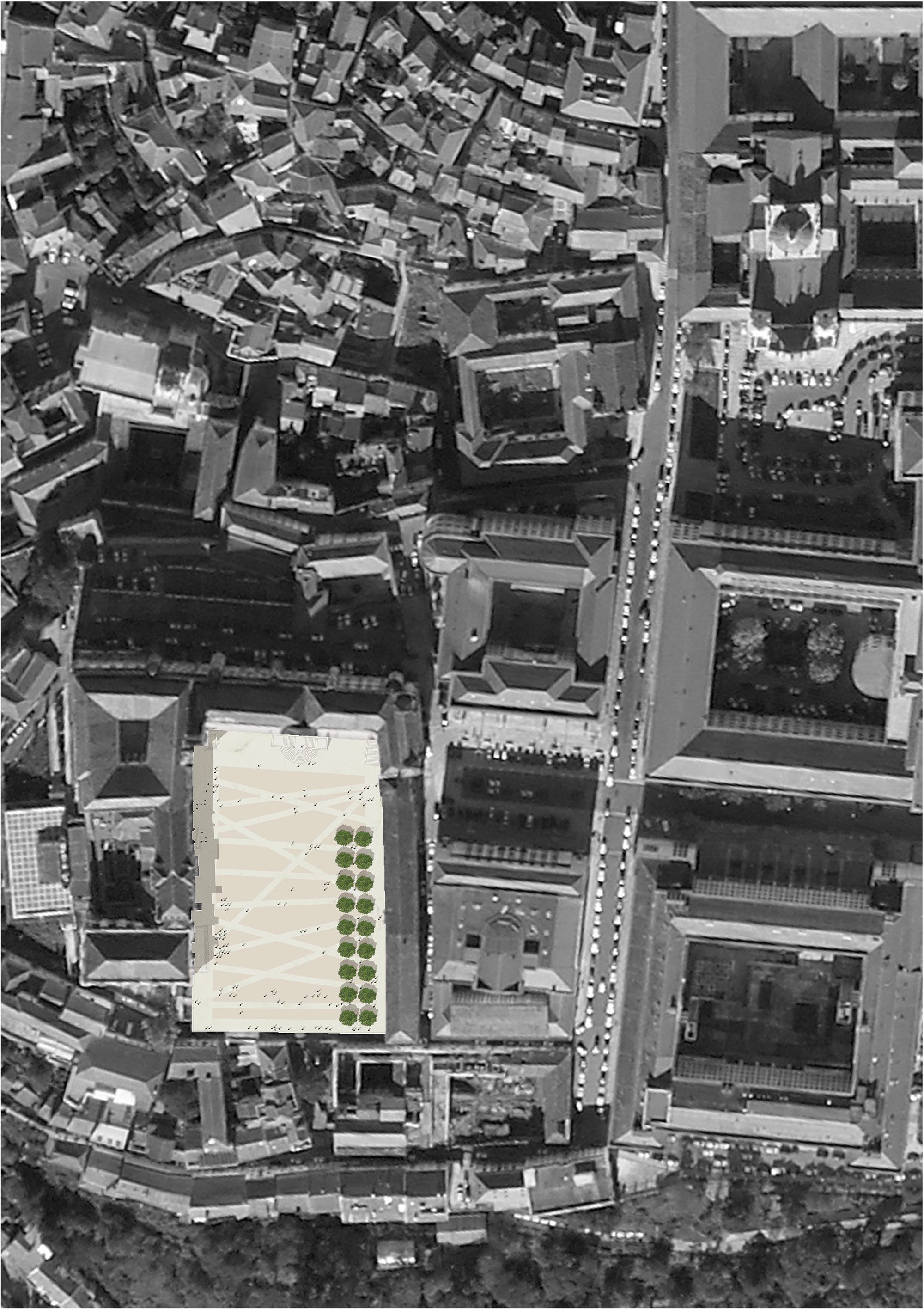 Pátio das Escolas Coimbra BB Arquitectos, Gonçalo Byrne, arquitectos Lda.