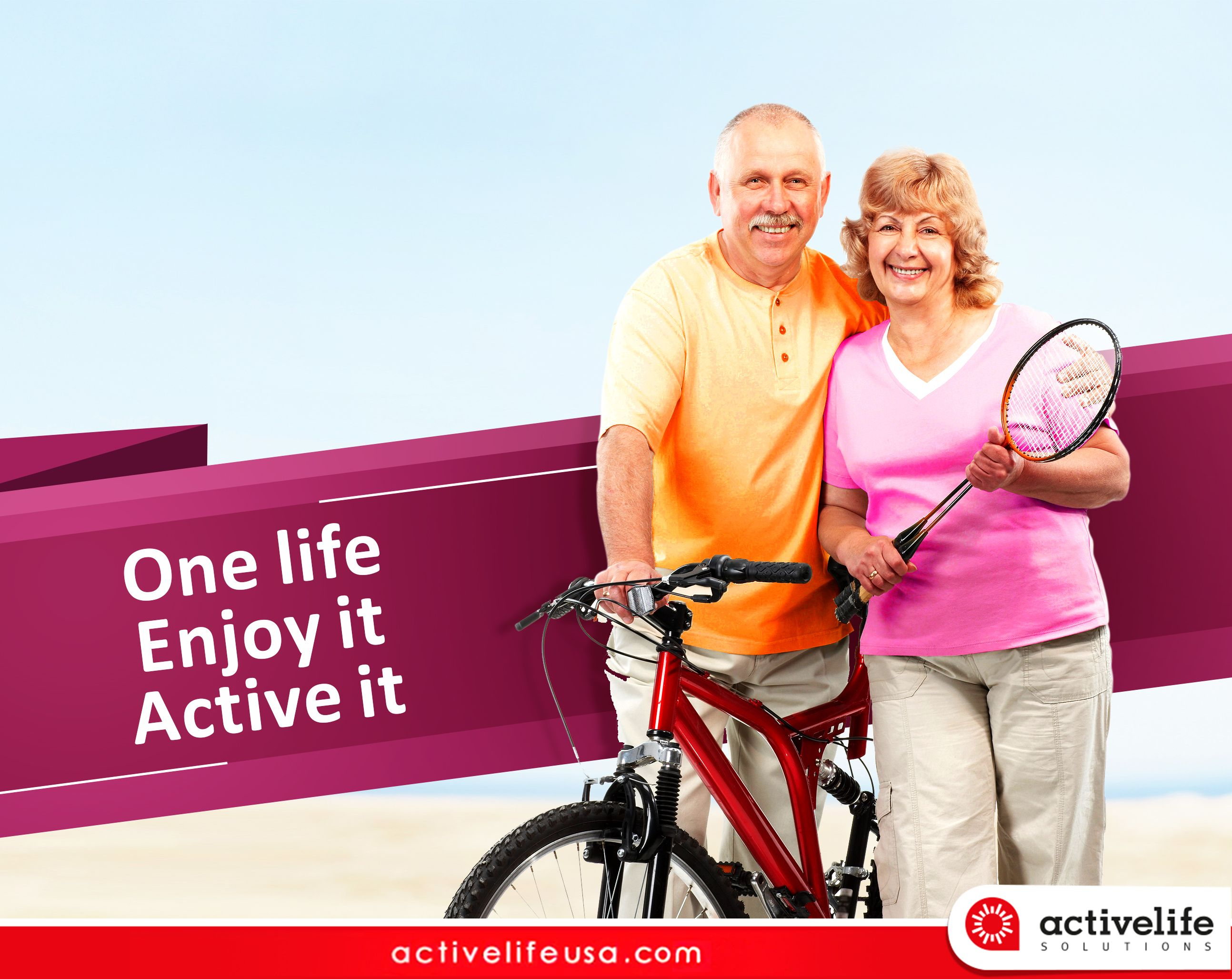 Enjoy your life with activelifeusa stay healthy stay