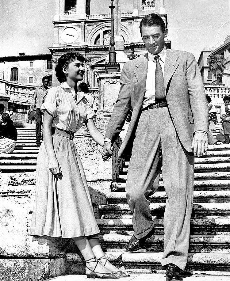 Audrey Hepburn & Gregory Peck – Roman Holiday (1953)