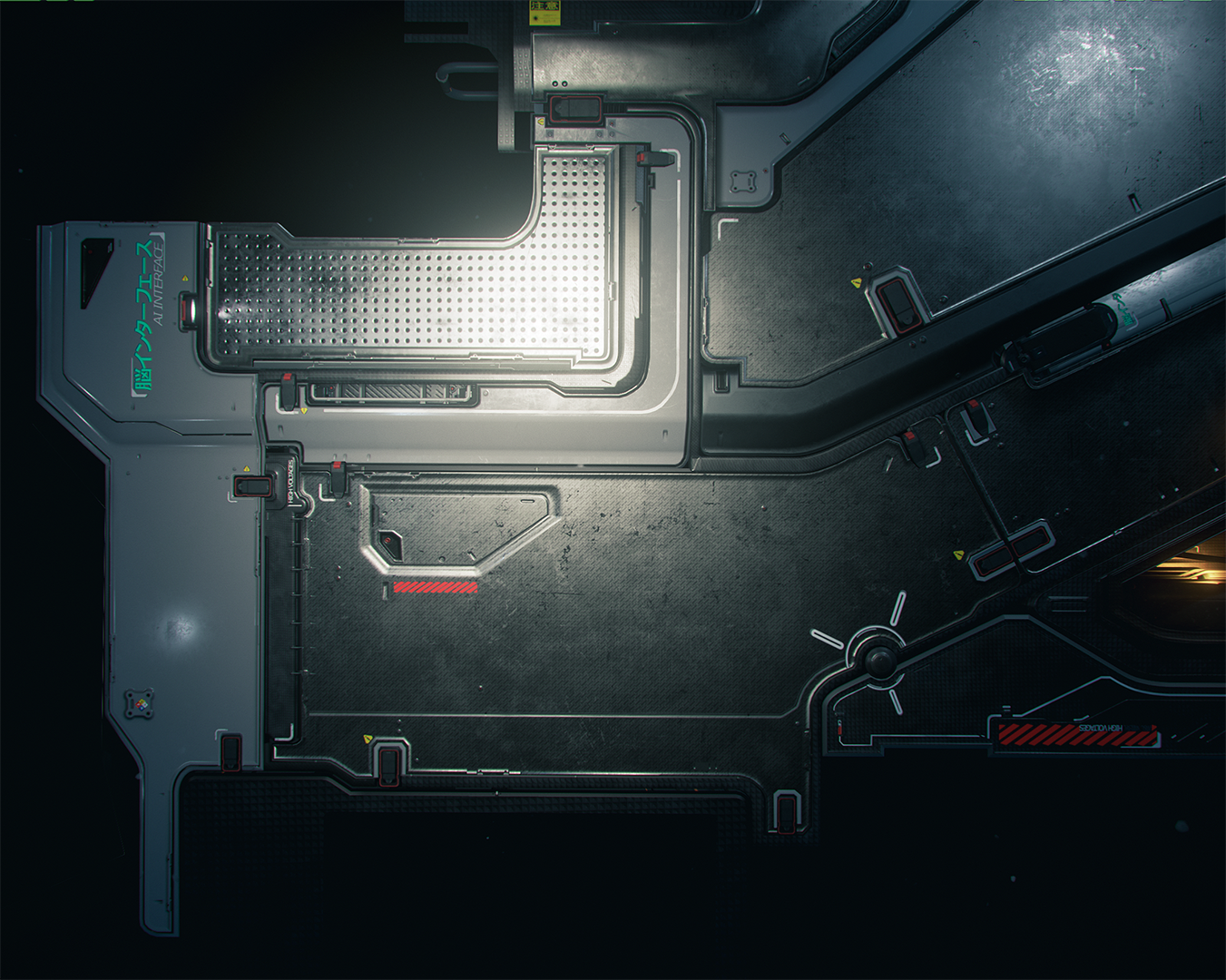 Pin by dachun on 科幻 Sci fi environment, Game environment