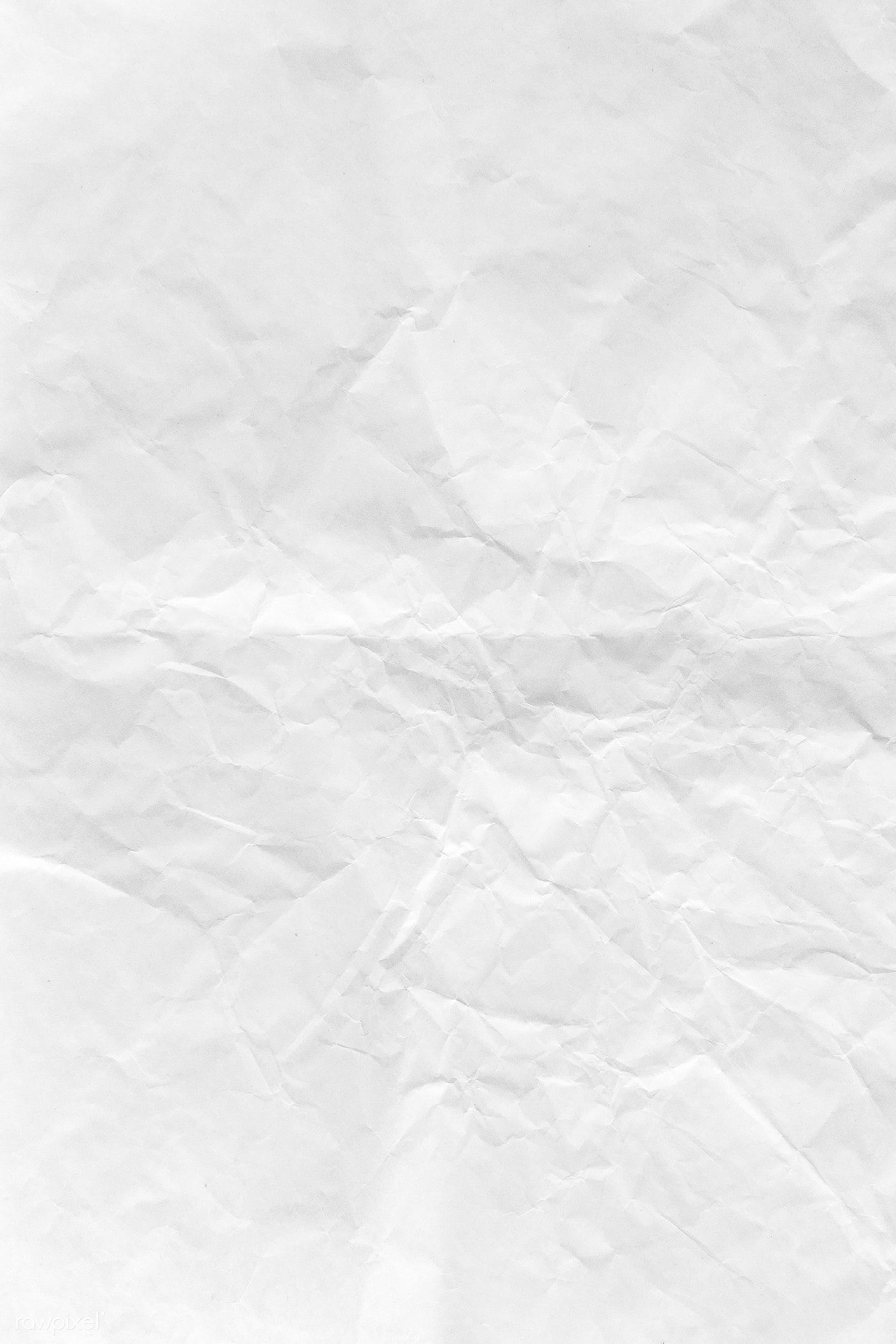 Download Premium Illustration Of Crumpled White Paper Textured Background White Paper Texture Background Paper Texture White Paper Texture