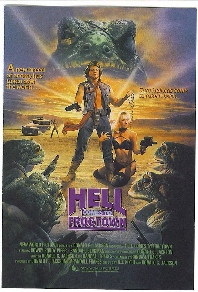 Hell Comes To Frog Town Movies Horror Posters Cult Movies