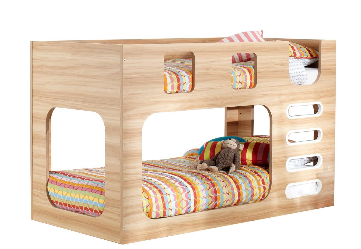 Saturn Bunk Bed Saturn Bunk Natural White Bedroom Furniture Forty Winks