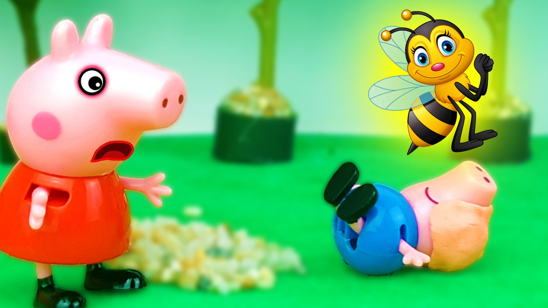 Picadura De Abeja Video Divertidos Peppa Pig Peppa Pig