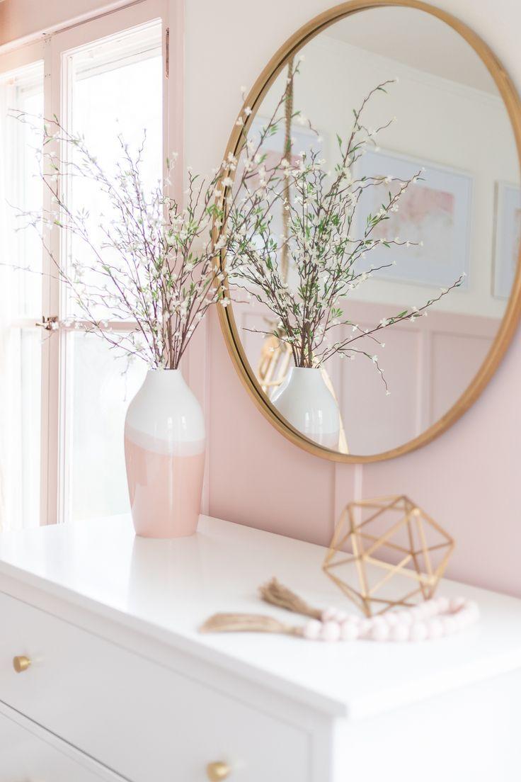 Pink Gold Girls Bedroom Decor Ideas Cherished Bliss Pink Bedroom Decor Gold Bedroom Decor Girl Bedroom Decor
