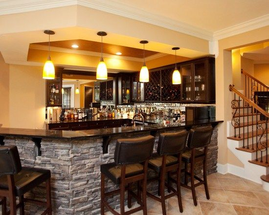 bar maison moderne