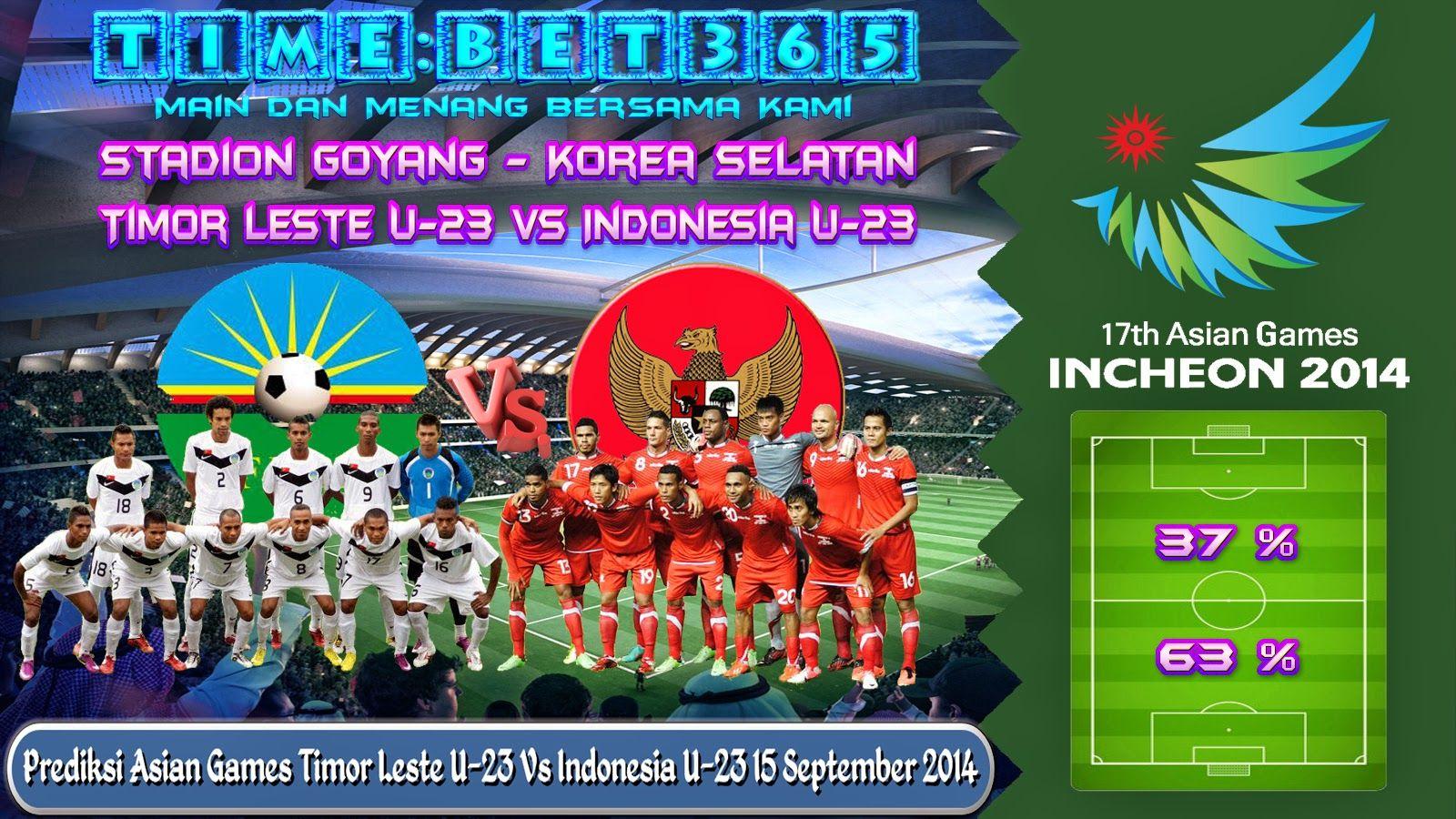 Prediksi Asian Games Timor Leste U23 Vs Indonesia U23 15
