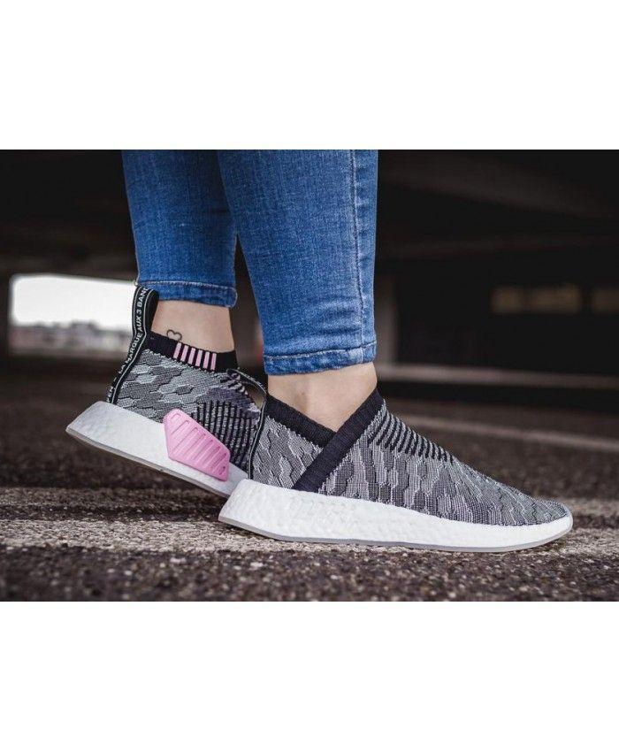 7d3effd84 Adidas NMD CS2 City Sock Primeknit W Black
