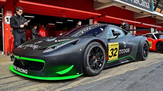 Ferrari 458 Italia Gt3 Kessel Racing Racing Ferrari 458