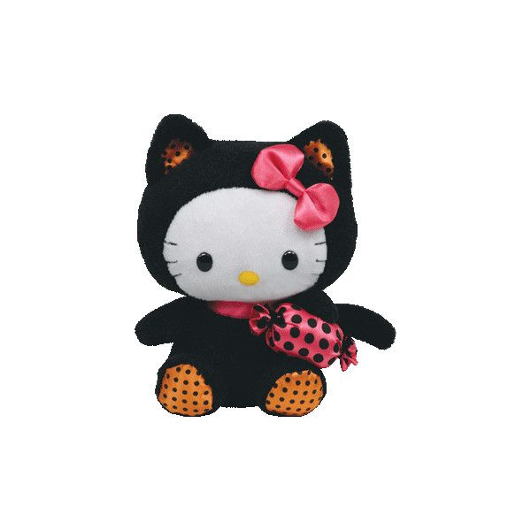 43660b69a44 HELLO KITTY BLACK CAT COSTUME TY BEANIE BABY HALLOWEEN NEW found on Polyvore
