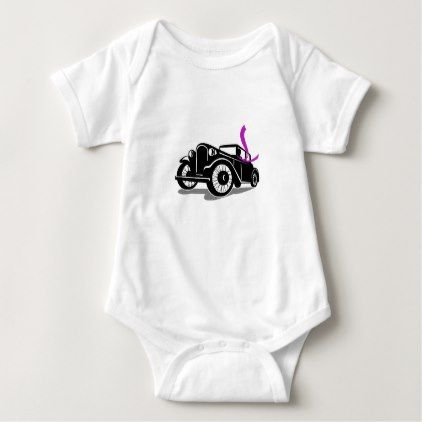 Vintage coupe with flowing scarf retro baby bodysuit retro baby vintage coupe with flowing scarf retro baby bodysuit negle Choice Image